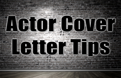 The words Cover Letter Tips on a brick wall